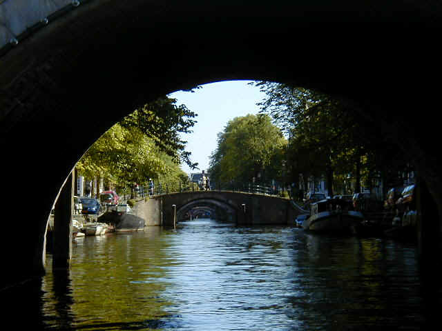Over 100 canals and 1,000 bridges in Amsterdam