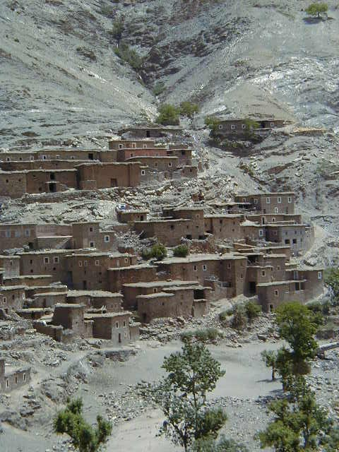 High Atlas housing