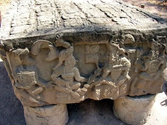 mayan sacrifice table - 550×412
