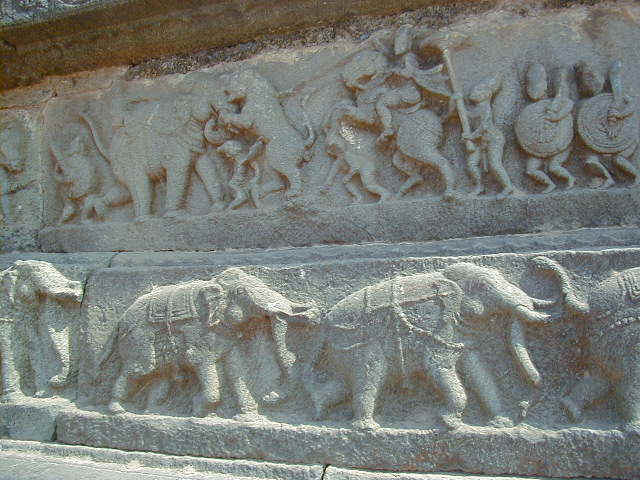 Typical carvings