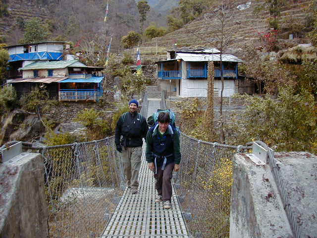 Chris and Chakre leaving on day 2