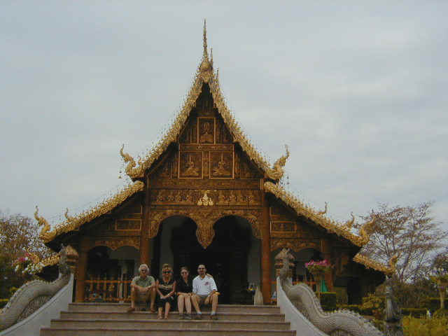 Wat (Temple) at Chiang Saen