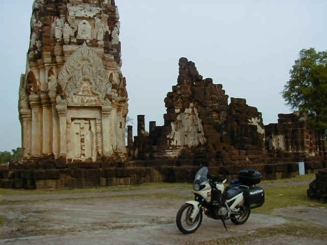 Ruins of old temple