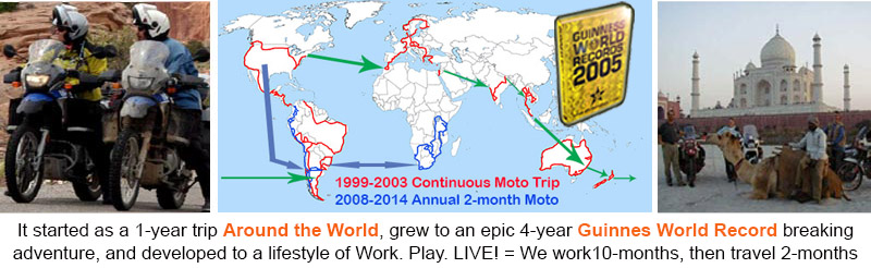 Ultimate journey around the world motorcycle tour gumiabroncs Images